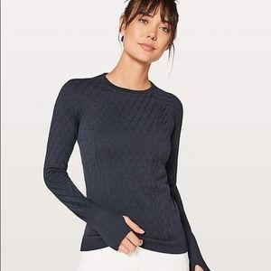Like New Lululemon Rest Less Pullover- Navy 4